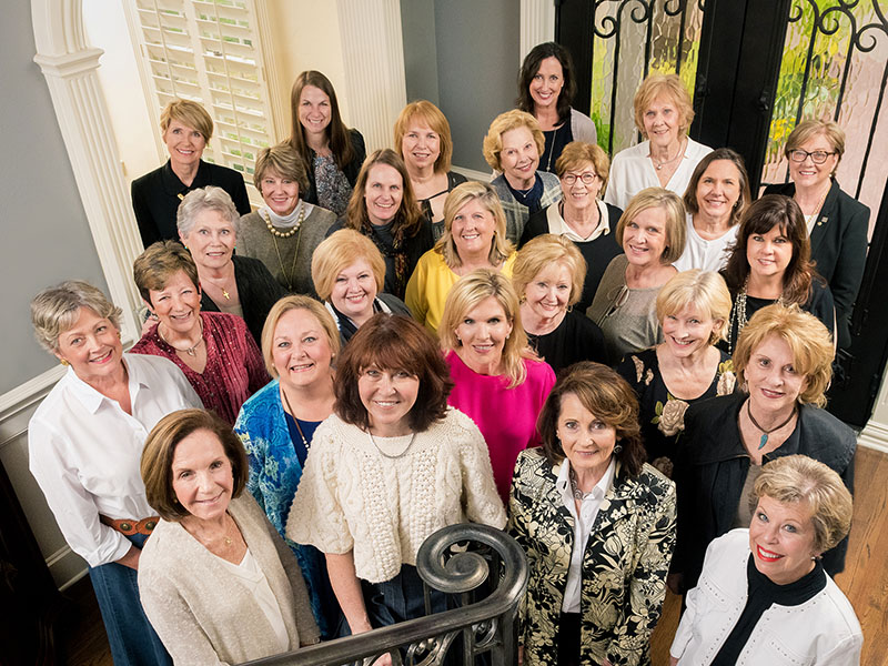 Ladies Involved with Texas Health Foundation