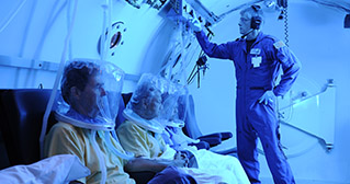 Inside the Hyperbaric Unit