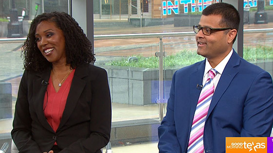 Dr. Kami Banks and Dr. Ashesh Parikh on Good Morning Texas